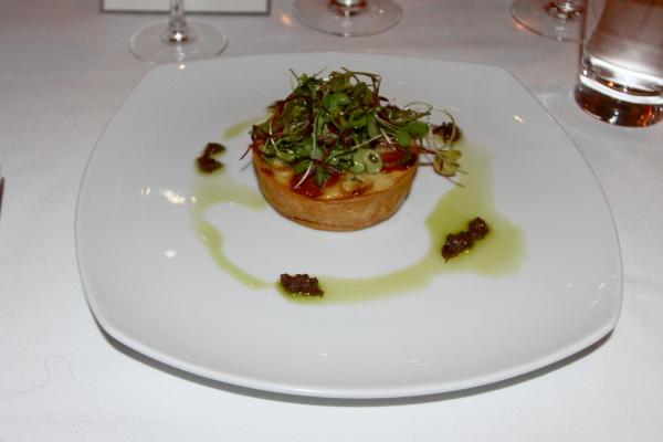 Norwegian Cruise Line's Chef's Table Short Crust Tartlet